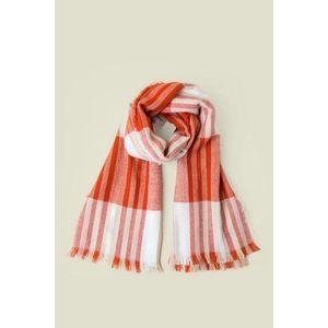 Francesca's Plaid Blanket Scarf